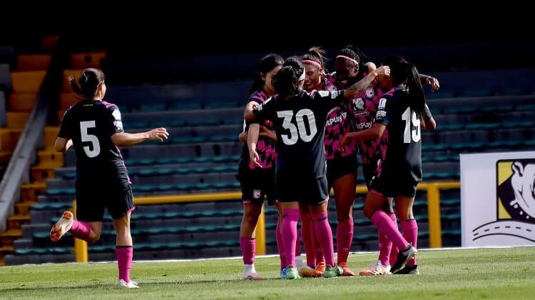 Cuartos de final ida en la Liga Femenina