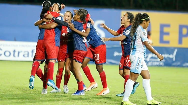 Independiente Medellín remontó, y pasó a las semifinales de la Liga Femenina