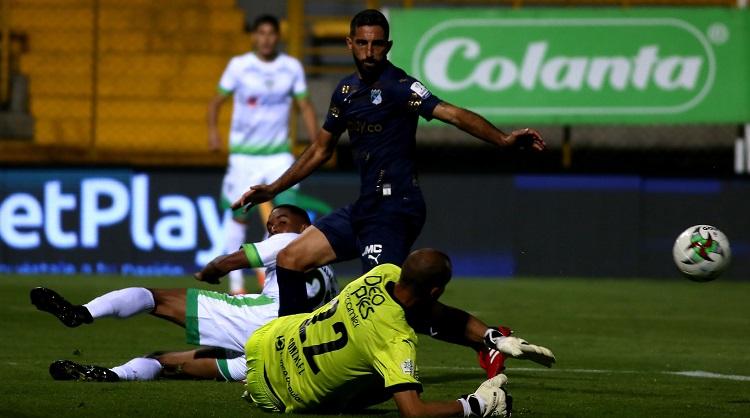 La Equidad y Deportivo Cali, partido con mayor tiempo de juego efectivo en cuartos de final