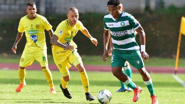 'En tablas' quedó el encuentro entre Leones FC y Valledupar