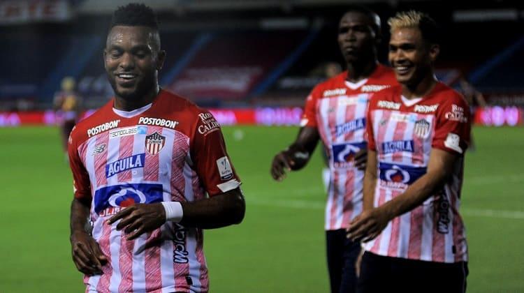Con gol de Miguel Borja, Atlético Junior derrotó a Deportes Tolima