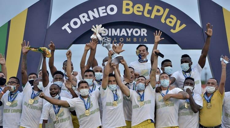 Atlético Huila, campeón del Torneo BetPlay 2020