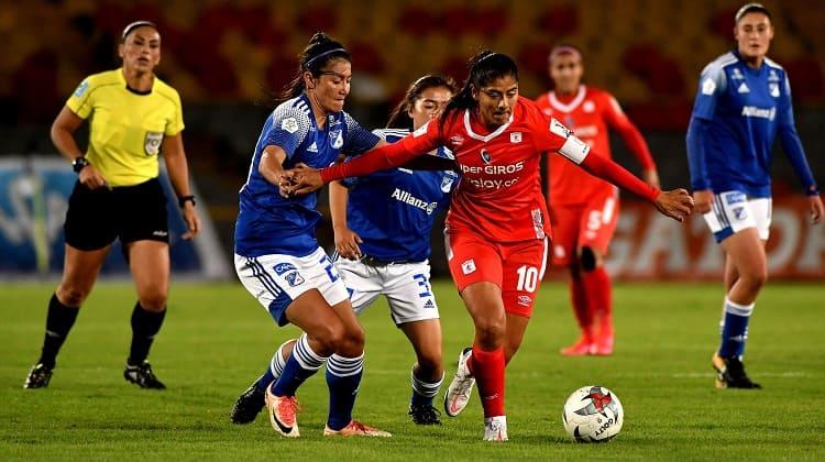 Millonarios y América igualaron en semifinales de la Liga Femenina