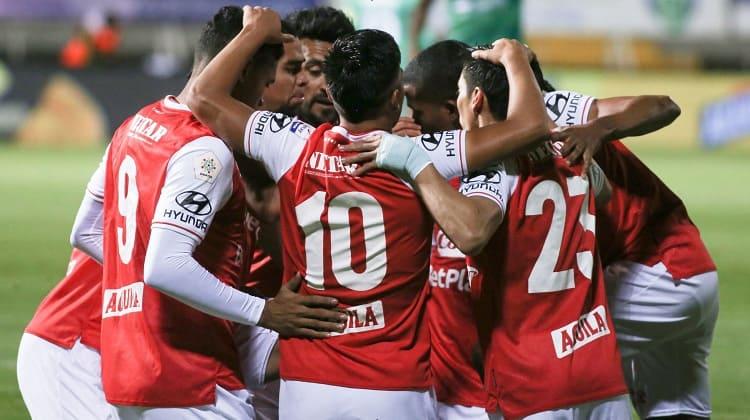 La Equidad y Santa Fe empataron en Techo en las semifinales de la Liga BetPlay