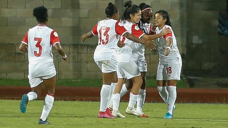 Santa Fe venció a Medellín y está a 90 minutos de la final en la Liga Femenina