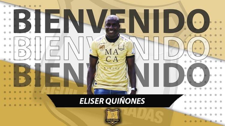 Eliser Quiñones, nuevo jugador de Águilas Doradas